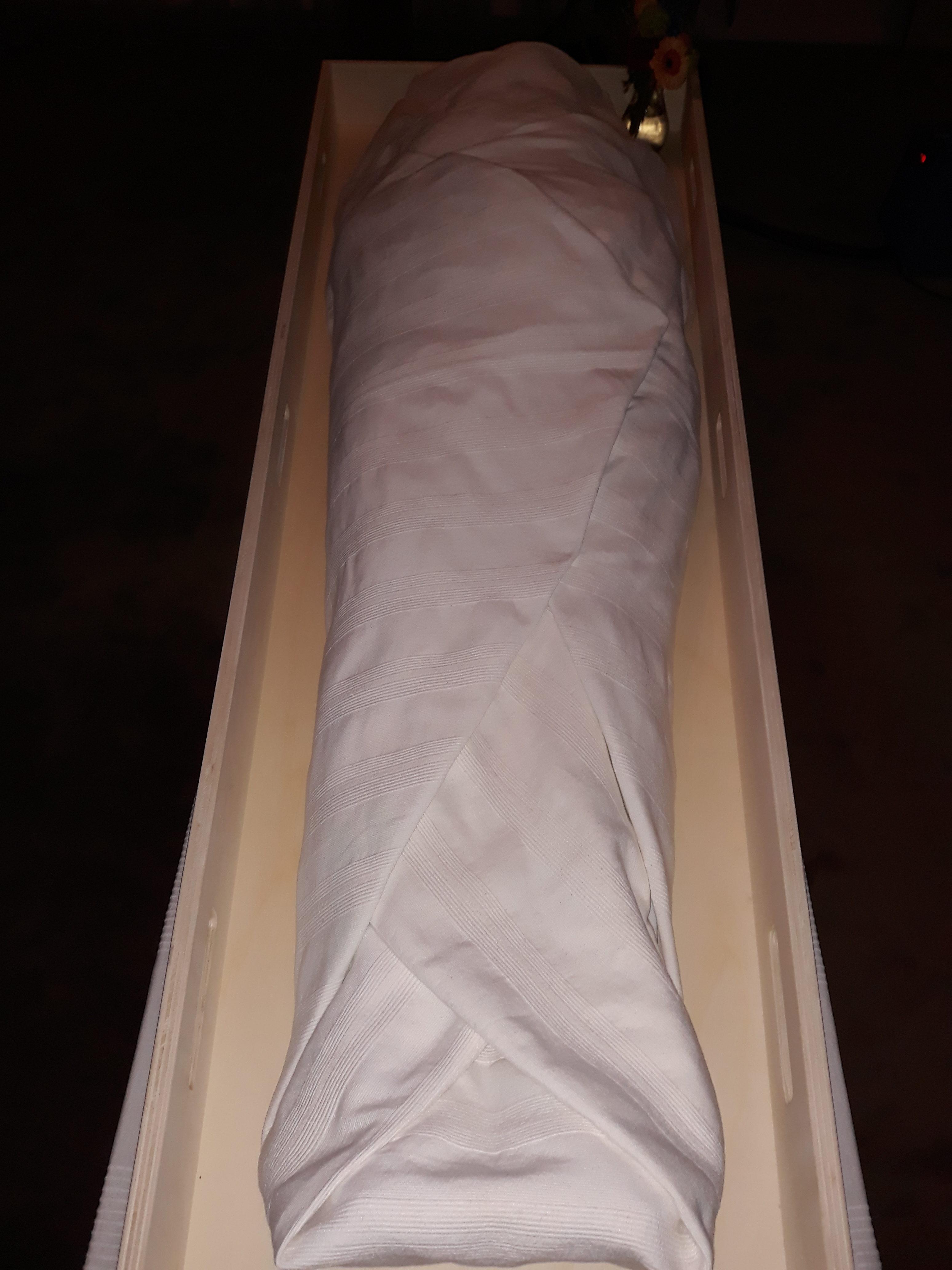 Het ritueel van een lijkwade